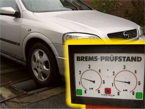 Bremsenprüfung auf unserem eigenen Bremsenprüfstand