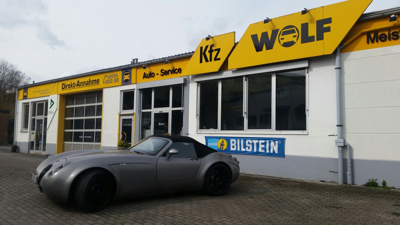 wiesmann gt roadster mf4 kfz meisterbetrieb wolf. Black Bedroom Furniture Sets. Home Design Ideas